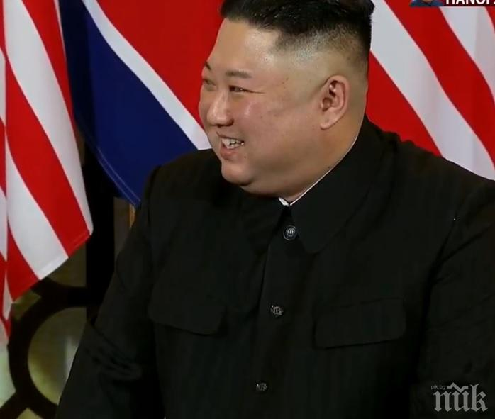 Ким Чен Ун лично е наблюдавал ракетните тестове на Северна Корея