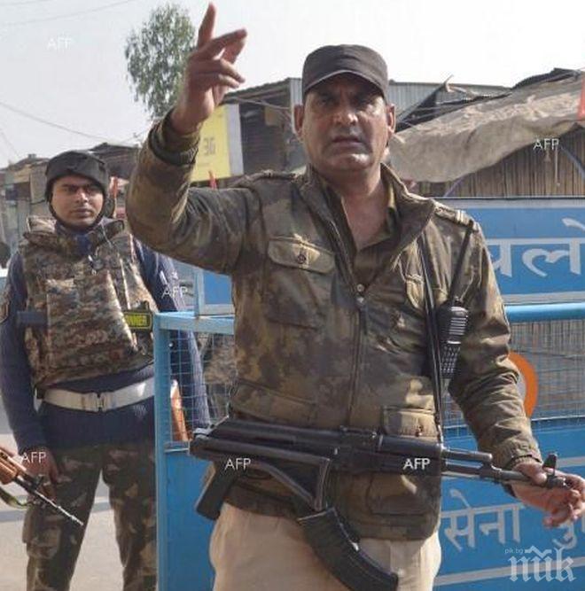 Безредици в столицата на контролираната от Индия част от Кашмир