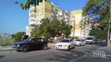 Екшън във Варна: Полицаи гониха пиян джигит без книжка с БМВ, дете пострада