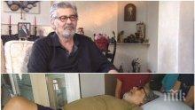 ДОБРИ НОВИНИ! Ламбо се шегува в болницата: Ранен партизанин съм