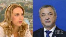 БОМБА В ЕФИР: Секретарката на Валери Симеонов се разграничи от него! Марияна Николова се гъне на въпроса дали разбира от компютри, а отговаря за киберсигурността...