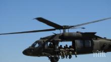ЗА ПЪРВИ ПЪТ: Български командоси скачаха от американски хеликоптери (СНИМКИ)
