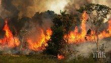 Президентът на Бразилия обвини НПО-та за пожарите в Амазония (ШОКИРАЩИ СНИМКИ)