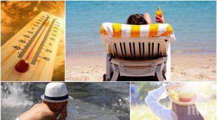 жега радост почиващите морето работещите спасението климатика горещо карта