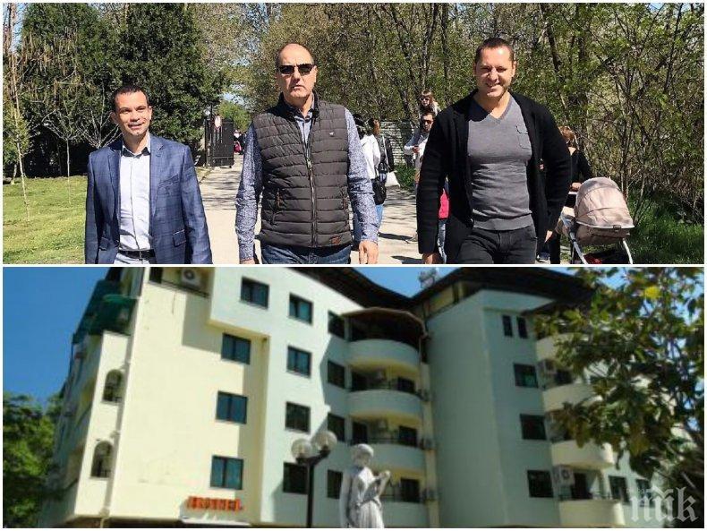 РАЗКРИТИЕ НА ПИК: Ето как кметът на Сандански си е пуснал минералната вода до хотела в схема с шефа на ДНСК (ДОКУМЕНТИ)
