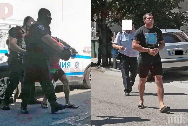 ГДБОП душила месец около Барбарона и Плешивия заради подозрения за връзки с Радо Ланеца - закопчаха ги преди да залеят Южното Черноморие с канабис