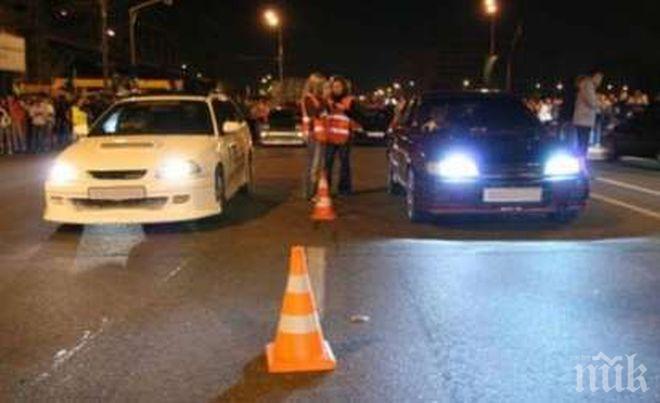 Акция за среднощни гонки в Пловдив