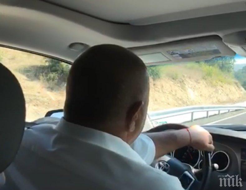 ИЗВЪНРЕДНО В ПИК TV: Борисов на път към Крумовград към финансовия министър: Влади, и тука е България, не е само на жълтите павета (ОБНОВЕНА)