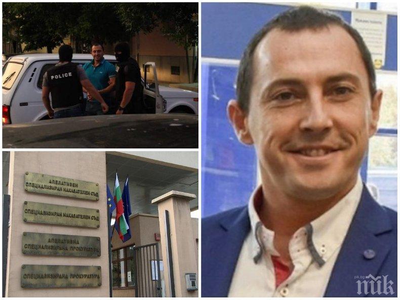 ИЗНЕНАДА: Арестуваният за подкуп от 60 бона Ральо Ралев излиза на свобода