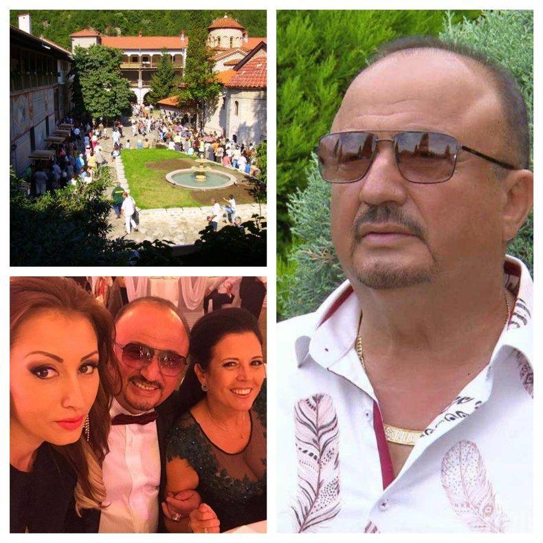СВЕЩЕН ОБЕТ: Свекърът на Джена топдарител на Бачковския манастир - ето какво прави Атанас Стоев всяка година на Успение Богородично...