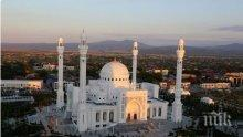 В Чечня откриха най-голямата джамия в Европа