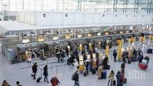 Затвориха летището в Мюнхен заради неидентифициран мъж, хиляди пътници блокирани