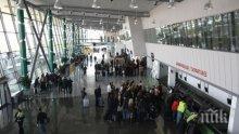ОТЛИВ: Пътниците на Летище Пловдив се стопиха наполовина