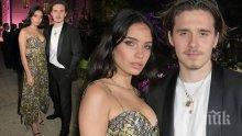 Скандали разделиха Бруклин Бекъм с модела Хана Крос