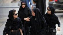 В ИРАН: Забранявали на жените да ходят на мач заради... мъжките ругатни