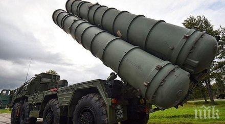 Втората партида С-400 пристигна в Турция