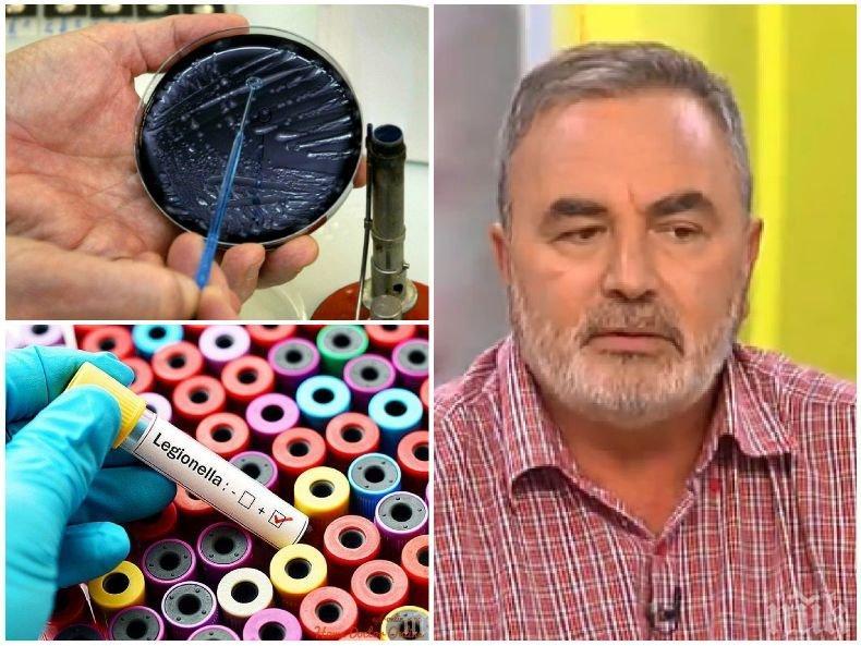 ГОРЕЩА ТЕМА! Д-р Ангел Кунчев разби на пух и прах обвиненията, че България е развъдник на легионерска болест
