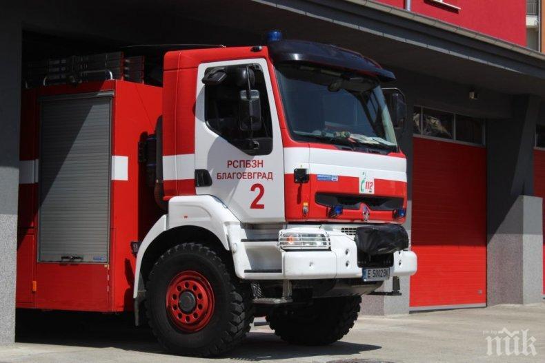 ИЗВЪНРЕДНО: Голям пожар лумна край Харманли