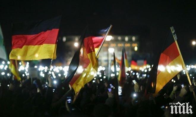 10 000 излизат днес срещу крайната десница в Дрезден