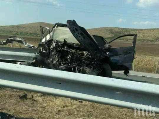 Трима загинаха при тежки катастрофи