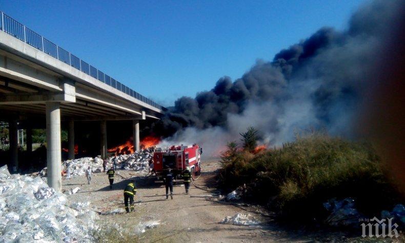 "Отвориха магистрала ""Струма"" към Гърция"