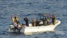 Френските власти заловиха 13 мигранти, плаващи с лодка към Великобритания