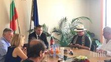 Илиан Тодоров разговаря с шейха Надя Ал Досари за инвестиции в Софийска област