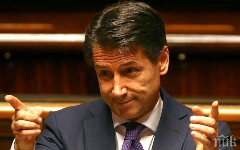 Джузепе Конте получи мандат за съставяне на кабинет