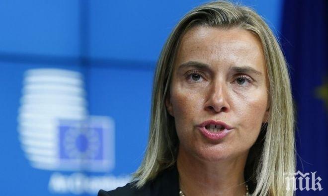 Могерини с призив - страните от ЕС да махнат визите за Косово