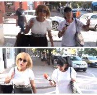 САМО В ПИК TV! Мая Манолова продължава с фризьорските подвизи и след катастрофата, която прати две жени в