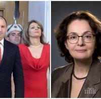ГОРЕЩА ТЕМА! Румяна Коларова за президента: Генерал Деси е катастрофа за мандата на Радев - гълта въздух заради нея и олеква