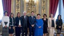 Новото правителство на Италия положи клетва (ВИДЕО)