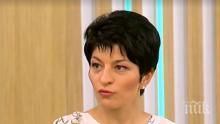 ЕКСКЛУЗИВНО В ПИК TV: Десислава Атанасова от ГЕРБ: Не ни е страх от кандидатурата на Манолова