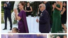 БРАВО: 86-годишният баща на Илиана Раева тропна ръченица на сватбата на внучка си (ВИДЕО)