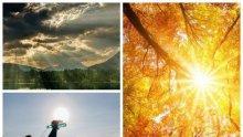 ЖЕГИТЕ ПРОДЪЛЖАВАТ: Температурите ще достигнат 35 градуса. Облаци над Западна България, но без дъжд (КАРТА)
