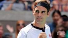 Федерер със силни думи за Григор