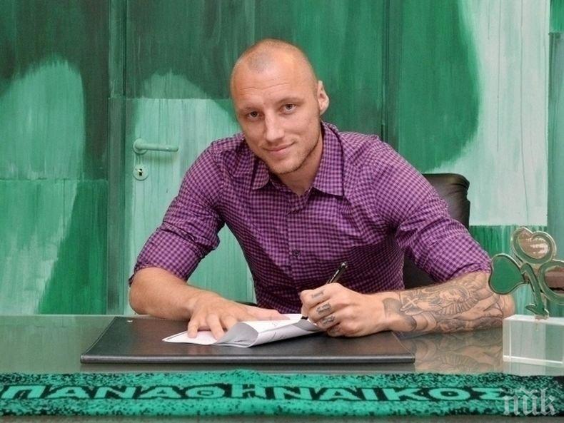 Ето кой убеди Иван Иванов-Русия да подпише с Етър