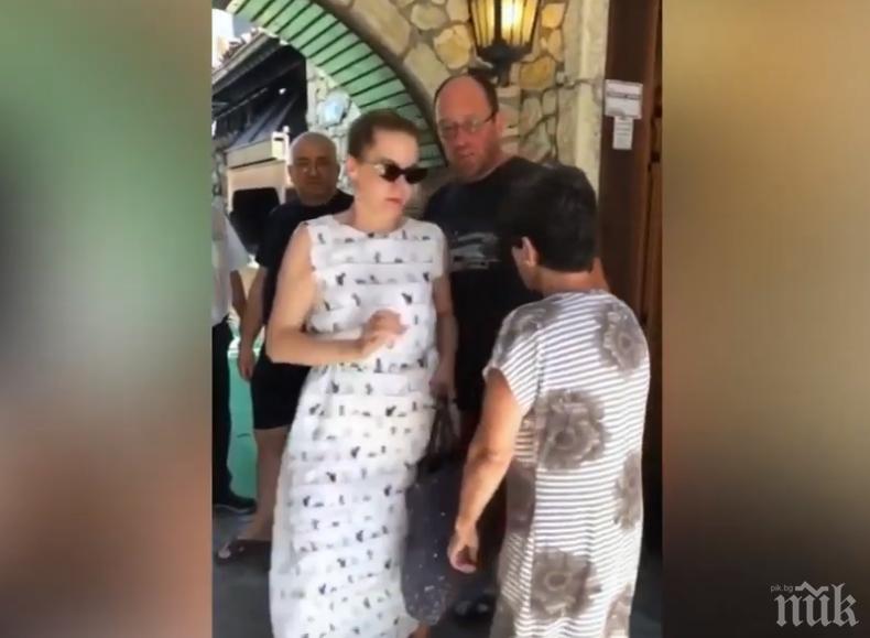 Ресторантьор нападна руска туристка заради 1 лев: Айде, марш оттук. Кучка! (ВИДЕО)