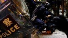 19 души са настанени в болница след поредните протести в Хонконг