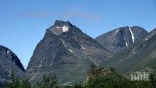 Стопи се най-високият връх в Швеция