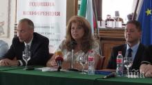 Вицепрезидентът Йотова прогнозира висока активност на местните избори