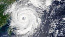 ОПАСНОСТ: Тайфунът Факсай наближава Токио