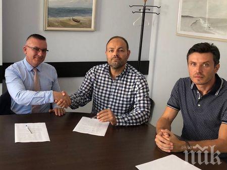 ГЕРБ и ВМРО обединяват сили за местните избори в Бургас