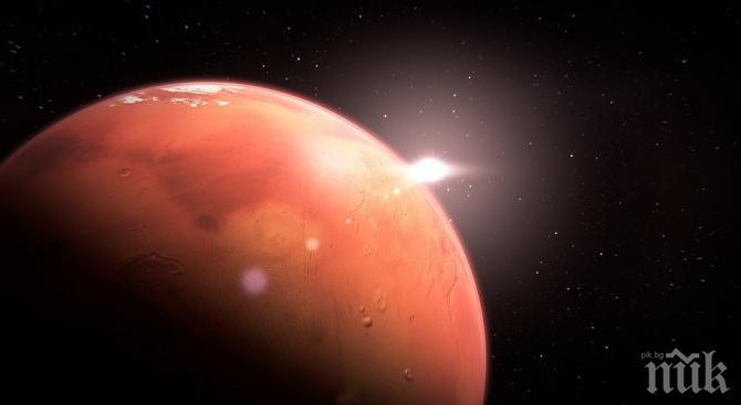 Служителка на НАСА видяла хора на Марс