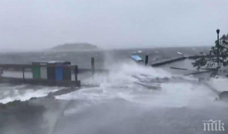 "Ураганът ""Дориан"" остави без ток около половин милион души в Канада"