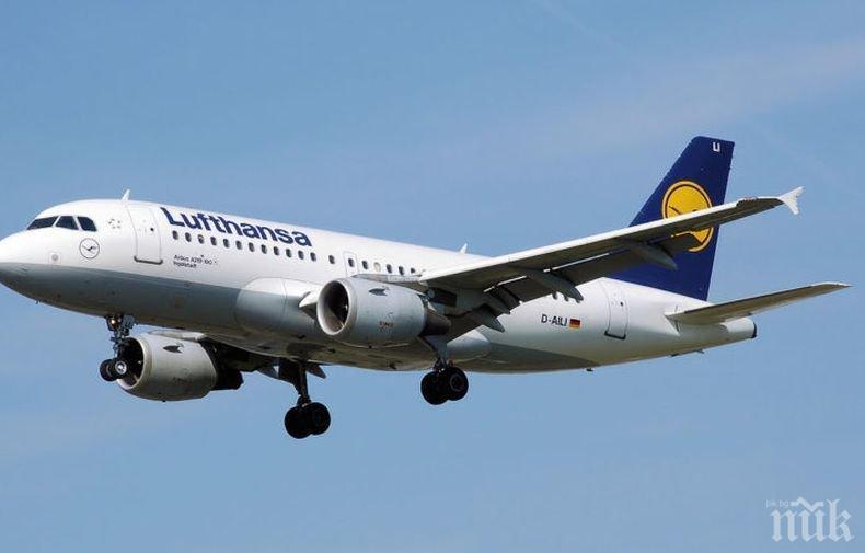 Шестима пострадаха от турбулентност при кацане на самолет в Берлин