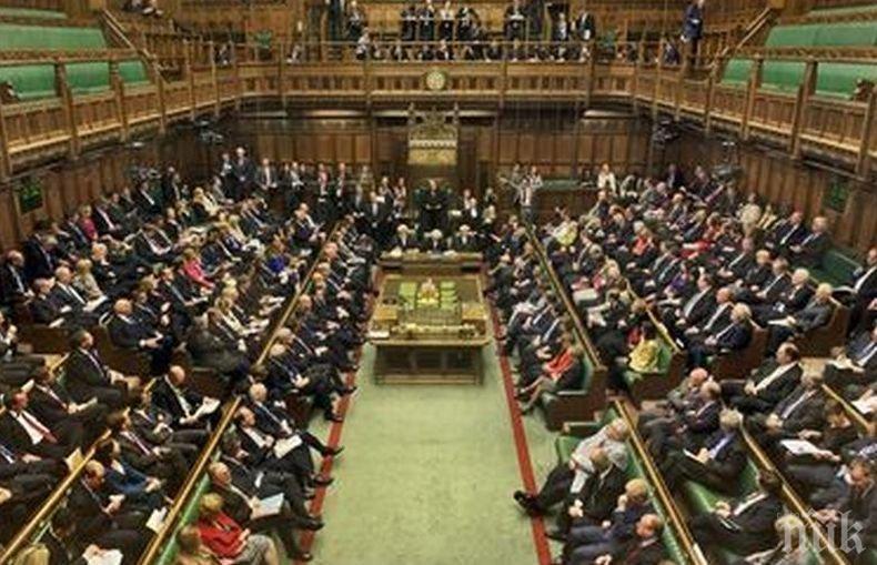 Британският парламент ще гласува за предсрочни избори