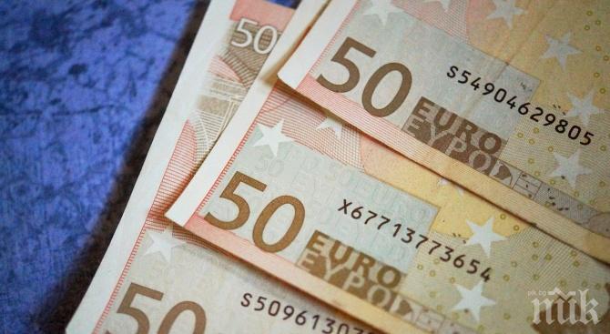 Дъжд от пари заваля в Сплит