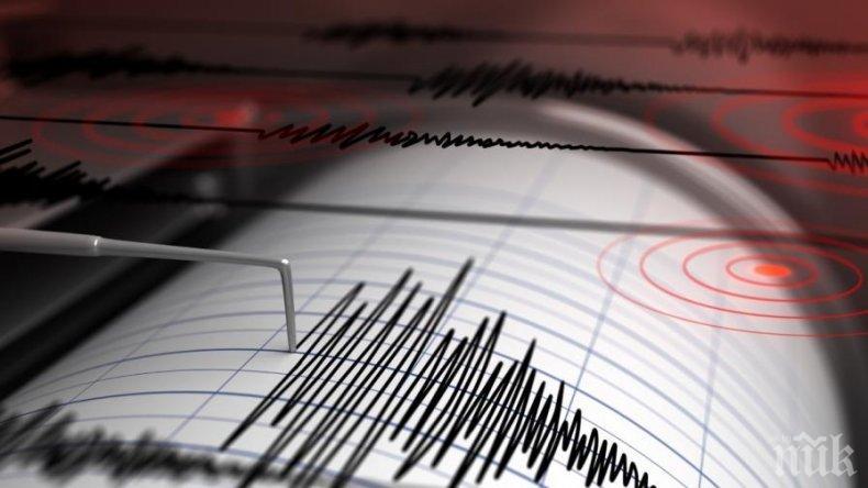 Земетресение с магнитуд 5.5 по Рихтер бе регистрирано във Венецуела