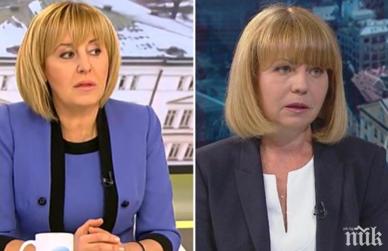 ЯХНА МЕТЛАТА: Мая Манолова хвърли ръкавица на Фандъкова, но мълчи за дипломата си - ето в какво обвини столичната кметица